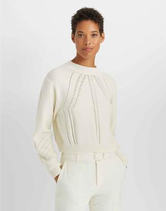 Club Monaco Pointelle Crewneck Sweater