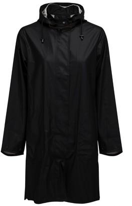 Ilse Jacobsen Black Rain 71 A Line Raincoat - 34