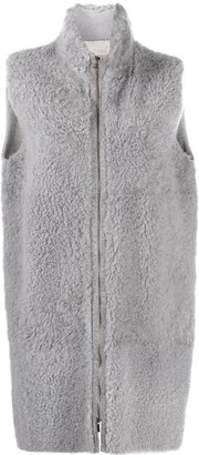 Fabiana Filippi Zip-Up Wool Gilet