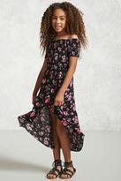 Forever 21 FOREVER 21+ Girls Floral Maxi Dress (Kids)