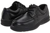 Hush Puppies Gus (Black Leather) Men's Lace up casual Shoes