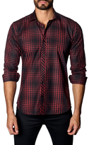 Jared Lang Cotton Check Sportshirt