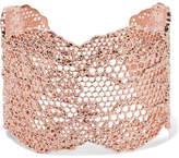 Aurelie Bidermann Lace Rose Gold-plated Cuff