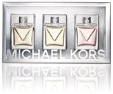 Michael Kors Collection 3 Piece Women Eau De Parfum Coffret Gift Set Gold Rose White Special Edition