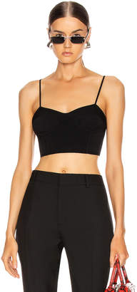 Alexander Wang Bralette Top in Black | FWRD