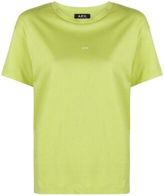 A.P.C. jersey T-shirt
