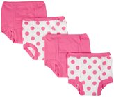 Gerber 4 Pack Training Pant (Baby) - Fuchsia - 18 Months