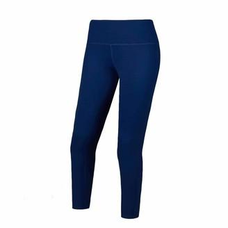 Equipment Desirable Time Women Compression Sports Capri Leggings Blue Workout Running 4 Way Stretch Workout Leggings XL Size