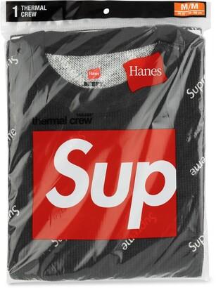 Supreme Hanes thermal crew