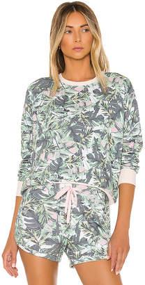 Sundry Palms Blouson Sweatshirt