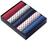 Charles Tyrwhitt Red White and Blue Cotton Handkerchief Box Set