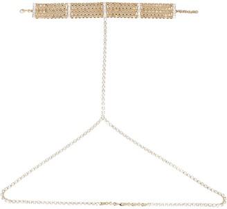 Alessandra Rich body Chain Belt