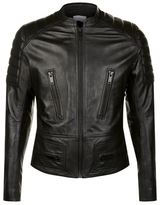 Sandro Speed Leather Jacket