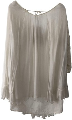 Stella Forest White Cotton Dress for Women
