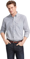 Izod Big & Tall Striped Casual Button-Down Shirt