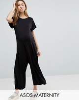 Asos Relaxed Jumpsuit with Wide Leg