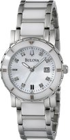Bulova Women's 98P121 Highbridge Substantial Ceramic + Stainless steel construction Watch