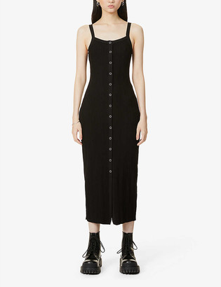 The Range Wave sleeveless stretch-knit maxi dress