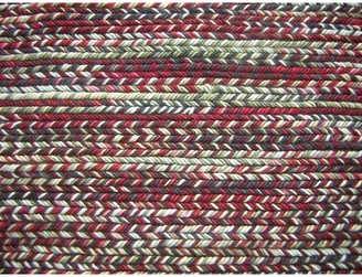 Modern Rugs Fishtail Rgo Multi-colored Area Rug Modern Rugs