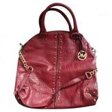 Michael Kors Brooklyn Burgundy Leather Handbags