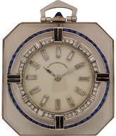 One Kings Lane Vintage 1920s Platinum & Diamond Pendant Watch