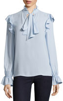 BELLE + SKY Long Sleeve Bow Top