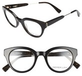 Derek Lam Women's 47Mm Optical Glasses - Black Brown
