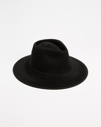 Brixton Black Hats - Jo Rancher - Size M at The Iconic
