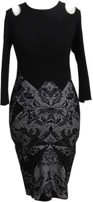 McQ Black Wool Dress for Women