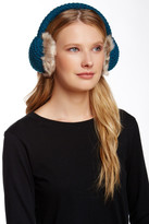 Collection XIIX Waffle Knit Faux Fur Tech Earmuff