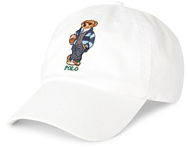 Polo Ralph Lauren Preppy Bear Chino Baseball Cap