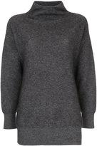 TOMORROWLAND oversized high neck sweater