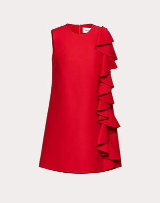 Valentino Crepe Couture Dress Women Red 38