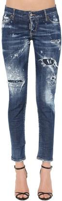 DSQUARED2 Medium Holes Wash Jennifer Jeans