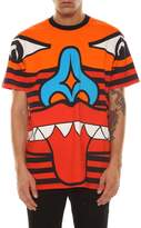 Givenchy T-shirt Printed Orange Totem