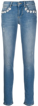 Liu Jo Slim Faded Jeans