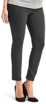 Gap Double-knit demi panel skinny ankle pants