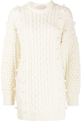 Christopher Kane Chunky Cable Knit Jumper