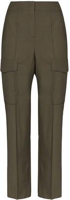LVIR Summer high-waist cargo trousers