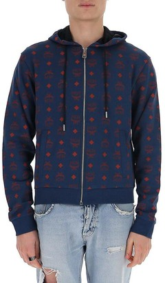 MCM All Over Logo Hoodie