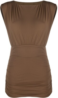 Marysia Swim Stretch-Jersey Fitted Dress