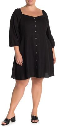 City Chic Summer Fling Dress (Plus Size)