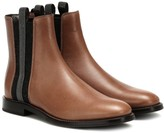 Brunello Cucinelli Embellished leather Chelsea boots