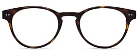 Look Optic Unisex Abbey Round Blue Light Glasses, 47mm