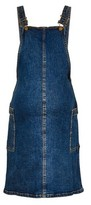 Dorothy Perkins Womens **Dp Maternity Midwash Denim Pinafore Dress