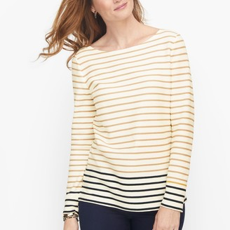 Talbots Authentic Tee - Bluestone Stripe