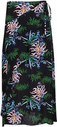 Kenzo Printed Wrap Skirt