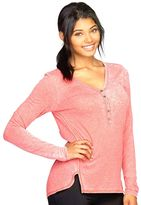 Colosseum Women's Bella Glade Henley Yoga Top