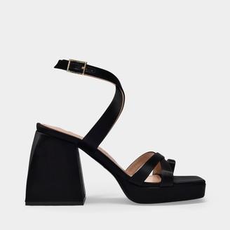 Nodaleto Bulla Siler Sandals In White Satin