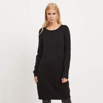 Vila Jumper Shift Dress with Long Sleeves